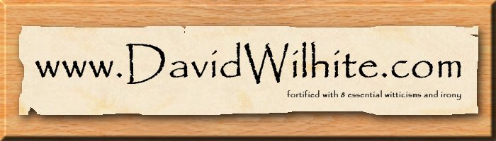 www.DavidWilhite.com - fortified with 8 essential witticisms and irony